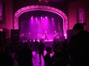 Arriving at the venue early in the pink glow. (Dingerz) Tags: assemblage23 tomshear gordclement normjolin lancepilon nttx endure theoperahouse toronto canada concert