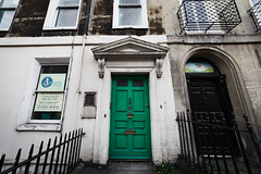 Green Door (Daveography.ca) Tags: archway arch building doors gb greatbritain doorway entrance door unitedkingdom britain bath house old architecture green front houses uk england