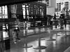 Reflection (Milena Robinson) Tags: strett city reflaction lady blackandwhite monochrome