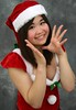 Rooty Toot Toots (emotiroi auranaut) Tags: girl cute sweet adorable pretty lovely charming attractive nice christmas red white santaclaus teen teenage teenager costume smile smiling