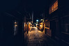 Dark Gion (Pikaglace) Tags: sony a7 lion kyoto japan japon asie asia city street photo travel dark sombre rue pavement pavée lumières enseignes restaurants night nuit