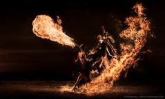 Starlight Alchemy by Von Wong This weeks blog post & BTSV... (flavoredtape) Tags: fire surreal alchemy starlight