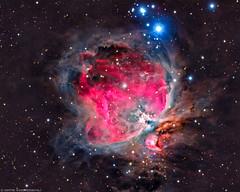 Orion Nebula M42 (Dimitri Goderdzishvili) Tags: astro astrophotography photography night sky stars nebula orion m42 cosmos universe stardust geoastro