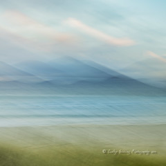 Hebridean Dream (pixellesley) Tags: outerhebrides luskentyre harris icmme beach ocean sand shore dawn daybreak sunup landscape lesleygooding dunes grasses hillside shadows clouds colour winter