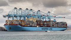 Maren Maersk (ramaca66) Tags: barcos container contenedores ship puerto port algeciras
