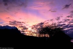 Savines (Anglique Amoureux) Tags: paysage calme coucherdesoleil sun d6 france