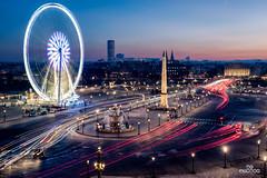 Place de la Concorde (brenac photography) Tags: acf brenac d810 fia france nikond810 signaart bluehour brenacphotography capital concorde concordesquare fontaine fountain goldenhour nikon obelisque paris placedelaconcorde rooftop sigma wheel wow îledefrance fr