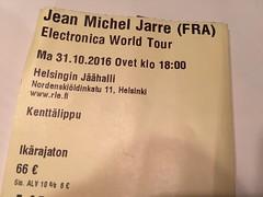 Jarre (Sameli) Tags: jean michel electronica world tour live music helsinki suomi finland jarre