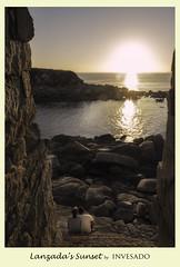 Lanzada´s sunset (invesado) Tags: la lanzadasunsetd3200nikonparejaromanticoreflejo en el marverano galicia