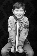 BoysNov2016-6107105.jpg (labrossephotography) Tags: portrait strobist dropitmodern blackonblack boy child son cutie cubscout neckercheif studio plm smile 9yo softlight