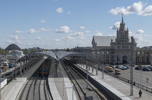 Brest railway station, 05.05.2014.