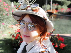 OKIMG_2027 (taymtaym) Tags: luccacomicsgames2016 luccacomicsandgames2016 lucca comics and games 2016 cosplay cosplayers costumes costumi costume cosplayer steampunk steam punk explorer portrait portraits ritratto ritratti