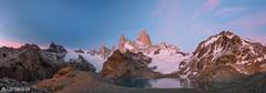 Dawn at the Fitz Roy - El Chalten (Captures.ch) Tags: 2016 alpenglow argentina black blue brown bushes captures dawn december elchalten fitzroy glacier gray ice laguna lagunadelostres lake landscape morning mountains nature orange panorama red sky snow southamerica stones travel trees water white yellow