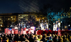 2016.12.01 Christmas Tree Lighting Ceremony, White House, Washington, DC USA 09296