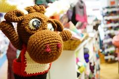 DSC01684 (The Crochet Crowd) Tags: crochetmoose amigurumi moose crochet doll alaska britishcolumbia thecrochetcrowd michaelsellick jeannesteinhilber danielzondervan crochetcruise mooseontheloose