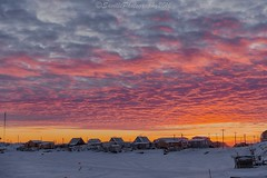OCT_5224s (savillent) Tags: tuktoyaktuk nwt northwest territories canada north arctic snow winter sky clouds landscape photography savillent artistic cold isolated rural december 2016