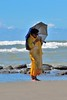 Bangladesh People 7858 (blackthorne57) Tags: bangladesh people cellphone smartphone sunshade coxsbazar beach sea waves