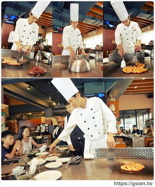 [宜蘭美食●羅東] 饗宴互動式鐵板燒--選用在地食材、新鮮漁貨的無菜單料理,一生要吃一次的美味鐵板燒♥