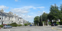 Ferryhill, Aberdeen, Aug 2015 (allanmaciver) Tags: city blue trees sky cars weather buildings out walking grey warm central granite suburb aberden ferryhill allanmaciver
