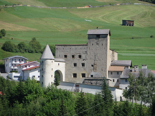 Fortifications, Nauders, district de Landeck, Tyrol, Autriche.