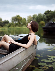 Untitled (averkievamary) Tags: life light shadow portrait sky people black flower color colour green water girl beauty lines canon boat model shadows sweet belarus minsk mark2