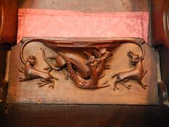 DSCN1908 (Richard Paul Carey) Tags: cathedral medieval carlisle misericords carvedwoodwork