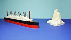 RMS Titanic (MOC) (hajdekr) Tags: motion toy ship lego small tricks help howto tips instructions easy manual titanic tutorial tuto assemblyinstructions microscale rmstitanicship