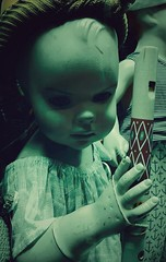 Night of the Living Doll (M J Adamson) Tags: newzealand christchurch halloween mannequin mannequins creepy nz thetannery