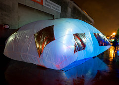 REFRACTOR does SEAcompression (architecturegeek) Tags: seattle street art festival architecture design nw nerds burn inflatable popup urbanism ignition streetfestival tactical 2015 seacompression ignitionnw tacticalurbanism seattledesignnerds