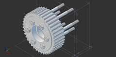 rotor_pulley_assembly