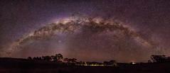 Starry Stanthorpe Skies (Kristin Repsher) Tags: panorama stars nikon df milkyway stanthorpe southeastqueensland granitebelt starrysky