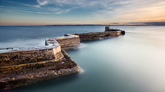 Smooth Water (Grant Morris) Tags: longexposure seascape water canon landscape scotland pier seaside waterfront fife sigma waterscape stmonans fifecoastalpath 1735 fifecoast abigfave grantmorris grantmorrisphotography squintypier