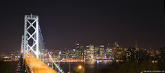 BayBridgeSanFrancisco_03 (DonBantumPhotography.com) Tags: skyline night ed lights landscapes nikkor 28300mm afs sanfranciscocalifornia oaklandbaybridge nikon 13556g vr d800 donbantumphotographycom donbantumcom