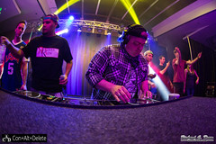 Con Alt Delete Anime Convention - Rosemont / Chicago IL - 2015 - Saturday RAVE (RickDrew) Tags: party chicago anime dance illinois greg cosplay rosemont il convention animation laser rave panels fans ayres edm con
