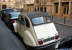 Citron 2CV (XBXG) Tags: auto old paris france classic car vintage french automobile citron voiture 2cv frankrijk parijs eend geit ancienne 2pk spcial 2cv6 citron2cv franaise deuche deudeuche 6445ng94