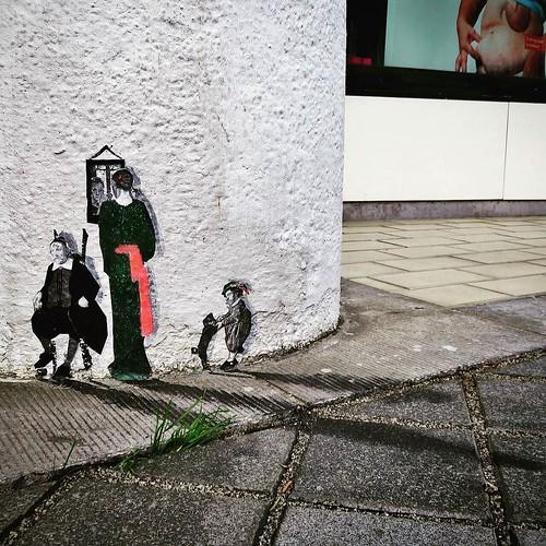 A #PedroDelgado from #Heerlen - #Netherlands #streetart #graffiti #streetart_daily #urbanart #wheatpaste
