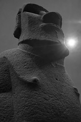 It seems we don't like to learn from history (L.H. Photos) Tags: statue museum easter island british moai hoa housed hakananaia
