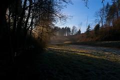 Sonnenaufgang beim Breitwiesenhof