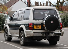 K964 JAR (Nivek.Old.Gold) Tags: turbo 1992 mmc mitsubishi pajero intercooler lwb southerncounties exceed 2500cc