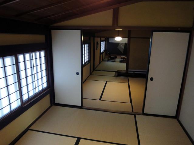 吉島家住宅の2階はスキップフロア|吉島家住宅