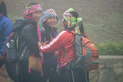 H'mong Tribe Girls in Th x Sa Pa in Fog, Sapa, Lo Cai, Vietnam (takasphoto.com) Tags: asia southeastasia vietnam asean sapa hmong indochina mo vitnam     wietnam vitnam   locai   hmng   hmongpeople vietnamas     cnghaxhichnghavitnam   ngnam      thtrn  azjapoudniowowschodnia   vijetnam locaiprovince  mainlandsoutheastasia      thxsapa                maritimesoutheastasia