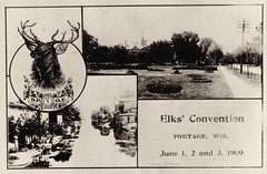 Elks Club Convention in Portage, 1909, 2