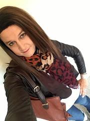IMG_9158 (kamara881) Tags: crossdresser crossdressing tranvestite trans transgender transisbeautiful transwoman tranny genderqueer genderfluid girlslikeus tgirl androgynous maletofemale mtf femboy kamara lovefashion newlook leatherjacket skinyjeans kneehighboots fashionblogger hrt m2f