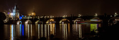 Charles Bridge (Chris in Czech) Tags: charles bridge karluv most prague praha night lights arch vltava river outdoor europe long exposure