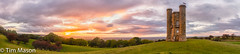 Panoramic Sunset at Broadway Tower (ThingyMeBobs) Tags: hdr landscape nikond500 broadwaytower where panorama 1116tokina type england