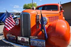 1937 LaSalle Opera Coupe (photo_maan) Tags: ks vintage rebuilt antique 1937lasalleopera event carshow customcars 1937lasalle kansas refurbished 1937 lasalle classic cars 1937opera cadillac ricoh grii