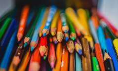 collection - in explore (2016/10/22) (panikyu) Tags: pencil pencils colors blue yellow red green orange brown pink black