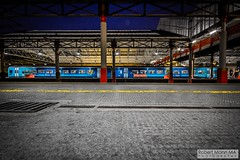 CreweRailStation2016.10.22-3 (Robert Mann MA Photography) Tags: crewerailstation crewestation crewe cheshire station trainstation trainstations train trains railway railways railwaystation railwaystations railstations railstation virgintrains virgintrainspendolino class390 class390pendolino pendolino northern northernrail class323 eastmidlandstrains class153 class350 desiro class350desiro arrivatrainswales class158 towns town towncentre crewetowncentre architecture nightscapes nightscape 2016 autumn saturday 22ndoctober2016 londonmidland