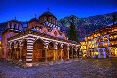 Spiritual Evening (hapulcu) Tags: monastery dusk autumn rila bulgaristan bulgarien bulgarie bulgaria bluehour rilamonastery