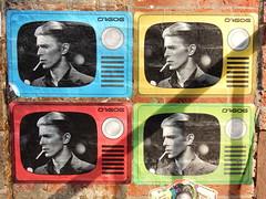 4 Bowie's (aestheticsofcrisis) Tags: street art urban intervention streetart urbanart guerillaart graffiti ny nyc newyork newyorkcity newyorkstreetart newyorkgraffiti usa d7606 bowie davidbowie pasteup wheatpaste